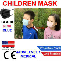 CHILD Face Mask MEDICAL Surgical Dental Disposable 3-PLY Earloop Mouth Cover