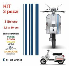 Kit Adesivi Vespa LML Scooter Moto Auto Strisce 3 pz 5,5 x 80 cm PX STICKERS