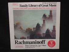 RACHMANINOFF ~ Piano Concerto No. 2 (SEALED) Funk & Wagnalls ~ U.S. RCA CUSTOM