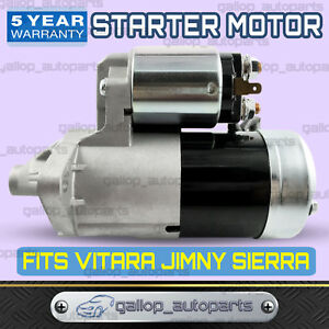 Starter Motor suits Suzuki Sierra SJ70 SJ80 4cyl 1.3L G13BA 1989~1998
