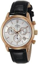 Rotary GS90129/06 Mens Swiss Made Monaco Chrono Leather Strap Watch RRP £425.00
