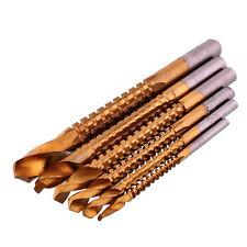 Professional 6pcs Titanio Rivestito HSS Drill & saw carpenter lavorazione del legno plastica