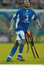 Leicester City mano firmato yakubu 6x4 Foto.