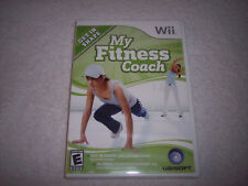 WII--My Fitness Coach (Nintendo Wii, 2008) Intense Fitness Program~Brand New
