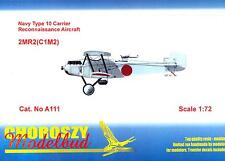 Choroszy Models 1/72 MITSUBISHI 2MR2 (C1M2) TYPE 10 Reconnaissance Aircraft