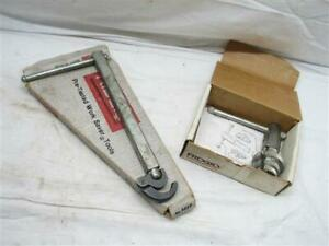 Ridgid Expanding Basin & No. 342 Internal Pipe Wrench Plumbing Tools 1017/31405