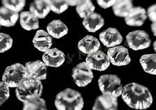 48 pcs Swarovski Crystal Bicone Beads #5328 CLEAR AB 3mm Jewelry Making