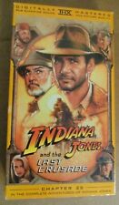 New listing Indiana Jones & The Last Crusade Vhs Staring Harrison Ford
