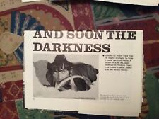 m12m ephemera 1970 film preview and soon the darkness robert fuest franklin