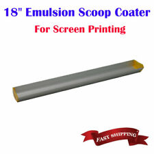 18 Emulsion Scoop Coater For Screen Printing Dual Edge