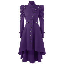 Women Gothic Coat Jacket Coats Victorian Overcoat Lady Retro Jacket Steampunk