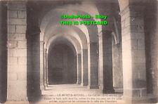R338951 Le Mont St. Michel Le Cellier. Forme de trois nefs dont les voutes d are