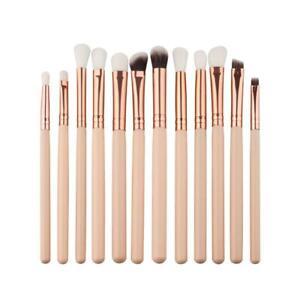 Set - 12Pcs Eye Brush Set, Cosmetics Eyeliner Eyeshadow Brushes