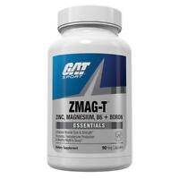 GAT ZMAG-T Zinc Magnesium B6 + Boron Essentials Overnight Recovery 90 Capsules