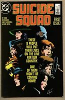 Suicide Squad #1-1987 fn 6.0 1st issue of the 1st series Waller / Deadshot
