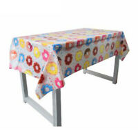 Donut Time Plastic Banquet Tablecloth 110 x180cm 1st Birthday Party  JR