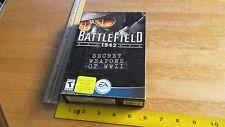 Battlefield 1942: Secret Weapons of WWII PC, 2003 New Sealed