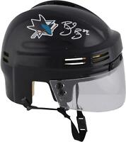 Brent Burns San Jose Sharks Autographed Black Mini Helmet