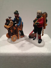 Dept 56 Dickens Village  #58394 Cobbler and Clock Peddler