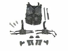 1/6 Scale Toy GI JOE - Roadblock - Armored Vest & Weapons Set