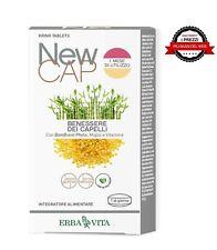 ERBA VITA New Cap Benessere Capelli 30 compresse Bambù Biotina Miglio Vitamine