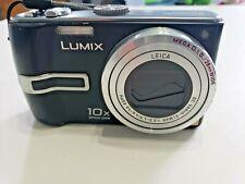Panasonic LUMIX DMC-TZ3 7.2MP Digital Camera - Black WORKS