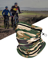 Cooling Neck Gaiter Bandana  Camouflage Face Cover Tube Snood Scarf Headband