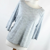 TU Womens Size 14 Grey Textured Basic Tee