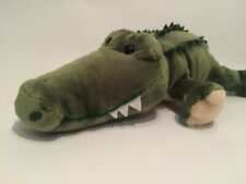 GUND SNAPPI Green Crocodile ALLIGATOR Soft Plush Stuffed Animal Toy 320746 17""