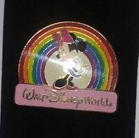 WDW Disney Mini Mouse with Rainbow Collectors Pin