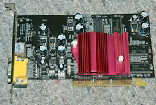 nVIDIA GeForce MX 4000 64MB DDR 64bit TVout AGP VGA card PASSIVE - FULL WORK