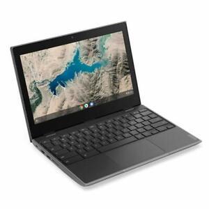 """NEW Lenovo 100e 11.6"""" HD 4GB RAM 16GB SSD Chromebook 81QB000AUS- Black"""