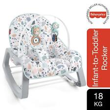 Fisher-Price Infant-to-Toddler Rocker, Multi-Coloured