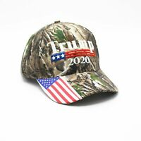 Make America Great Again Embroidery USA Flag 2020 Donald Trump Hat