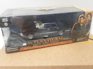 chevrolet impala sedan noir greenlight 1/43 serie super natural