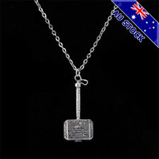 Marvel Thor Hammer Metal Pendant Necklace Fashion Jewelry