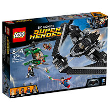 NEW LEGO DC COMICS SUPER HEROES HEROES OF JUSTICE: SKY HIGH BATTLE 76046