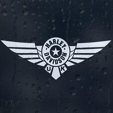 Motor Harley Davidson ciclos Reino Unido signo Motocicletas Coche Decal Pegatina De Vinilo