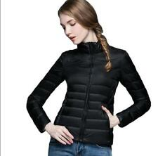 UNIQLO'S Factory Sale! Womens 90% Down Jacket Puffer Coat Ultralight Outdoor
