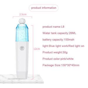 Hydrating Sprayer Beauty Spray Apparatus Humidifier Rechargeable Nano SprayY^dm