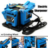 110V 96W 1350 rpm Electric Grinder Multifunction Sharpener Grinding Drill  @!%