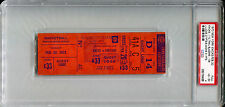 February 20 1973 New York Knicks NBA Champs Season / Blazers Full Ticket PSA 4