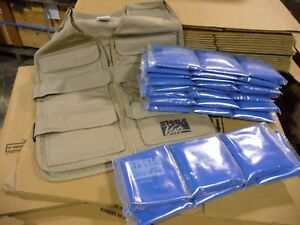 Steele cooling vest with 1 set of cooling packs FREE SHIPPING