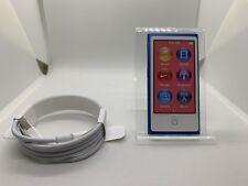 Apple Ipod Nano 7th 7. Génération 16 GB Bleu Foncé Neuf New 7G Bleu Foncé Rare