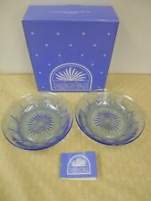 Nib One Pair of Vintage Avon American Blue Classic Collection Soup Bowls
