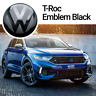 VW T-Roc A1 Front Emblem Schwarz Vorne Black Zeichen Logo Style Sport R-Line ACC