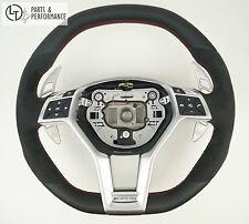 LE TEF® Leder Lenkrad für Mercedes-Benz 45 63 AMG W212 X156 W176 R231 R172 Perf.