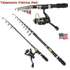 Telescopic Fishing Rod Ultralight Carbon Fiber Portable Sea Spinning Pole