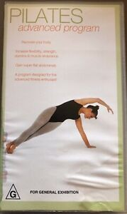 Pilates Advanced Program VHS Tape In Good Condition PIA