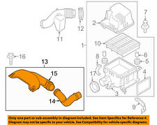 KIA OEM 10-13 Forte Air Cleaner Intake-Air Duct Tube Hose 282101M400